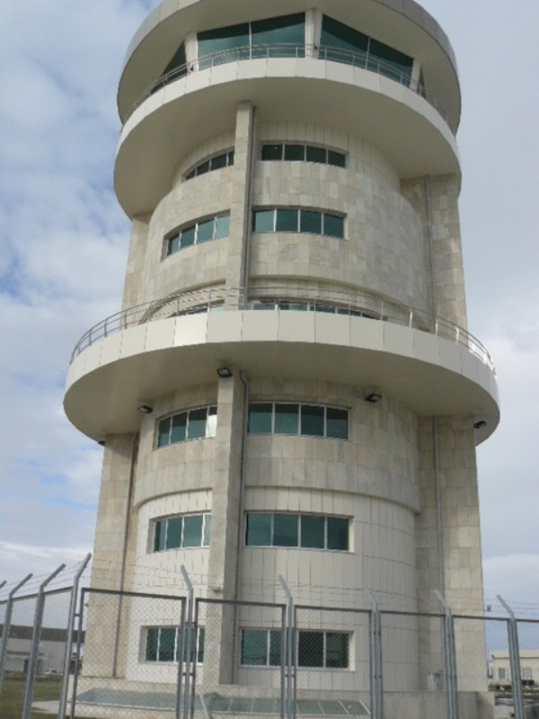Mekanik Kaplama - Zafer Havaalanı Kontrol Kulesi - Kutahya